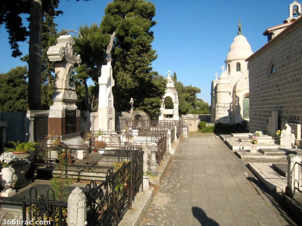 Supetar cemetery